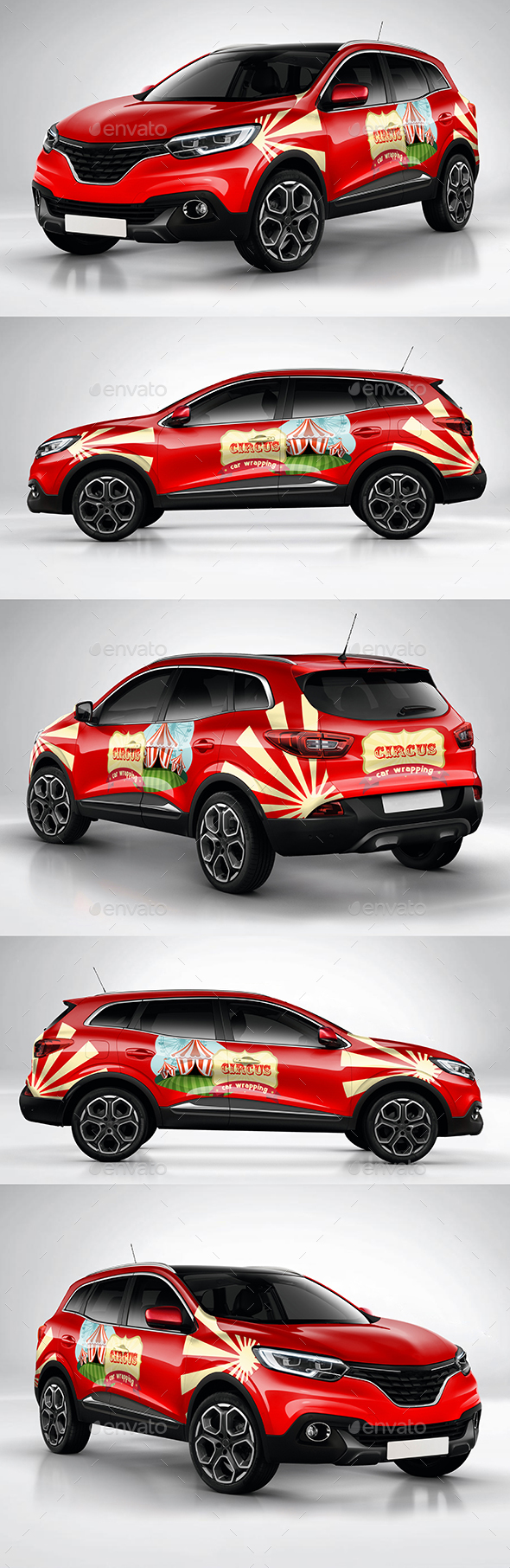Car Wrapping crossover Kadjar