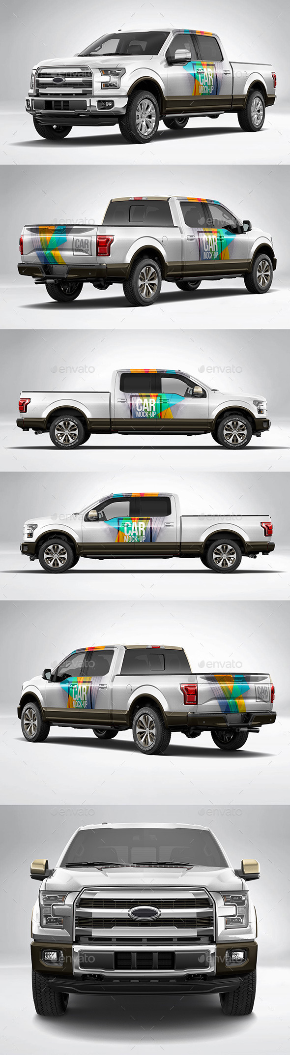 Car Wrapping Ford F150 - Preview Flocage