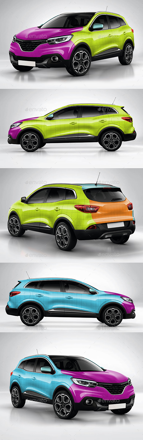 Photorealistic mock-up Kadjar