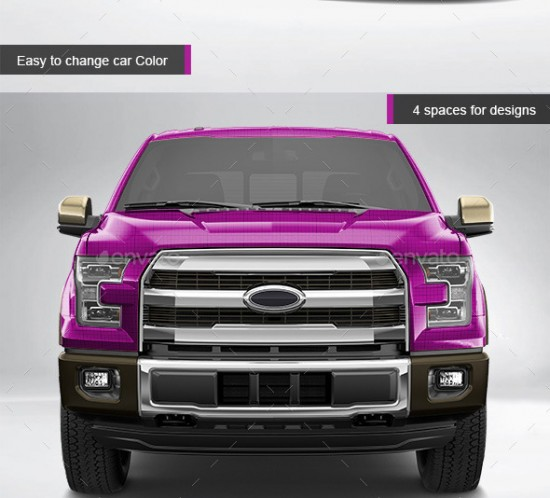 Car Wrapping Ford F150
